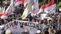 Potret Aksi Aliansi Mahasiswa dan Sipil